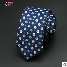 Load image into Gallery viewer, Jacquard Slim Tie