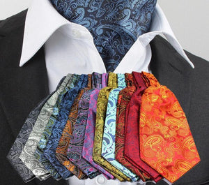 Men  Formal Cravat Ascot