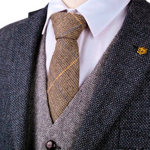 Load image into Gallery viewer, Herringbone Tweed Ties