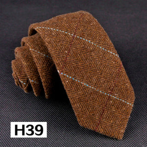 Herringbone Tweed Ties