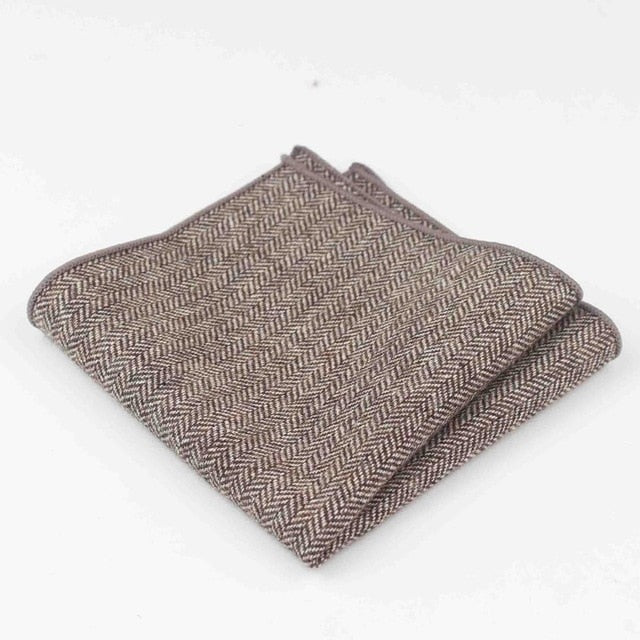 Cotton/Wool Formal Pocket Square