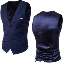 Load image into Gallery viewer, 9 Colors Men's Casual Slim Vests