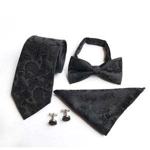 Men's 100% Silk Neck Tie Set
