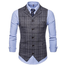 Load image into Gallery viewer, Mens England Style Casual Vests