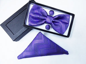 Bow-tie and Pocket square set