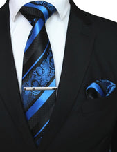 Load image into Gallery viewer, 3PCS Men's Tie Handkerchief Set