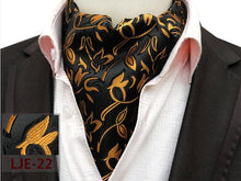 Load image into Gallery viewer, Men's Classic Paisley Ascot