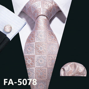 Necktie Cravat and Handkerchief