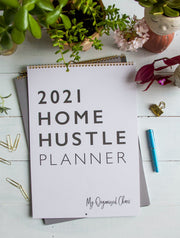 2021 Home Hustle Planner Calendar - Write To Me
