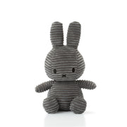 Miffy Plush - Miffy Sitting Corduroy Grey (23cm)