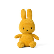 Miffy Plush - Miffy Sitting Corduroy Yellow (23cm)