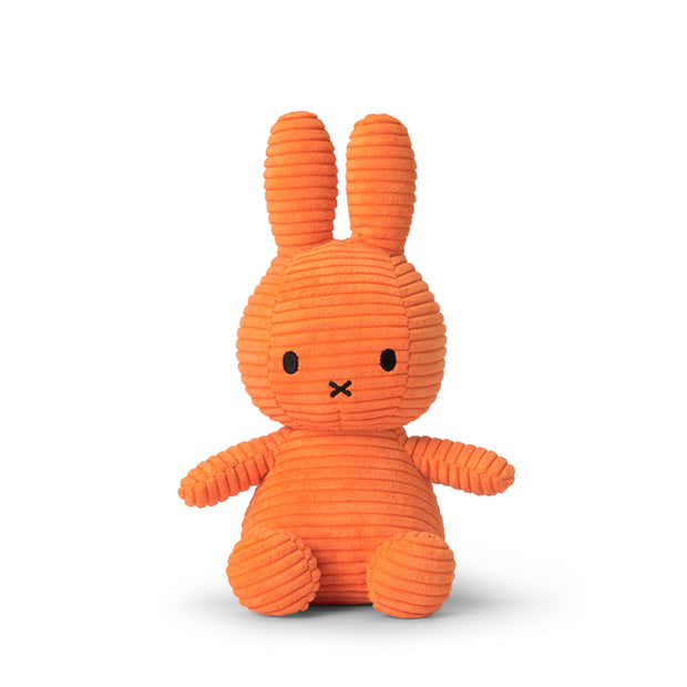 Miffy Plush - Miffy Sitting Corduroy Orange (23cm)
