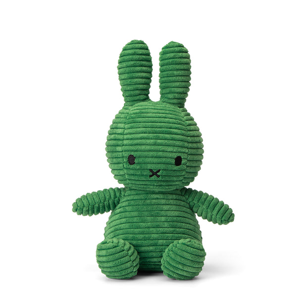Miffy Plush - Miffy Sitting Corduroy Spring Green (23cm)