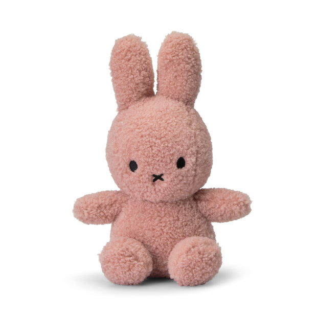 Miffy Plush - Eco Collection Miffy Sitting Teddy Pink (23cm)