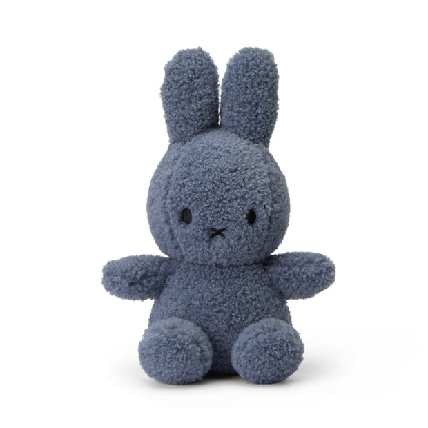 Miffy Plush - Eco Collection Miffy Sitting Teddy Blue (23cm)