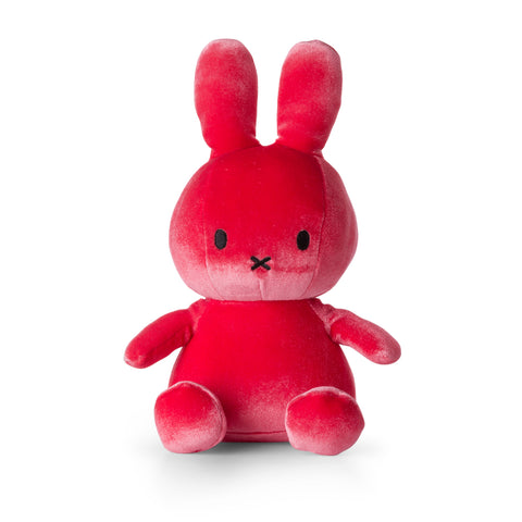 Miffy Plush - Miffy Sitting Velvet Candy Pink (23cm)