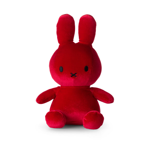 Miffy Plush - Miffy Sitting Velvet Candy Red (23cm)