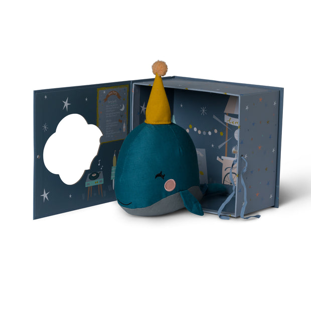 Picca Loulou - Whale in gift box (21cm)