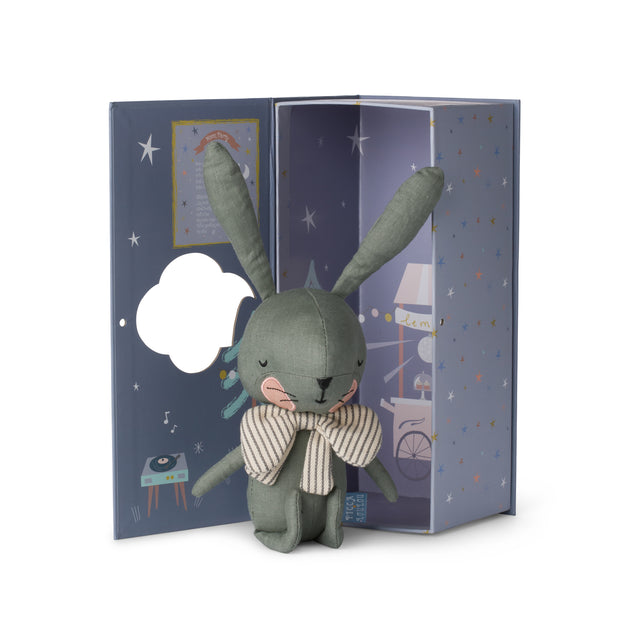Picca Loulou - Rabbit Green in gift box (18cm)