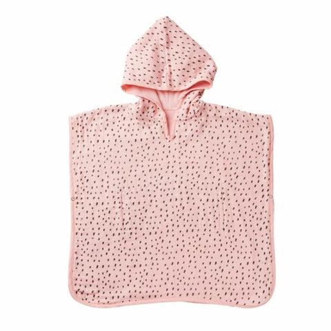 Acorn Rosy Day Organic Cotton Hooded Towel