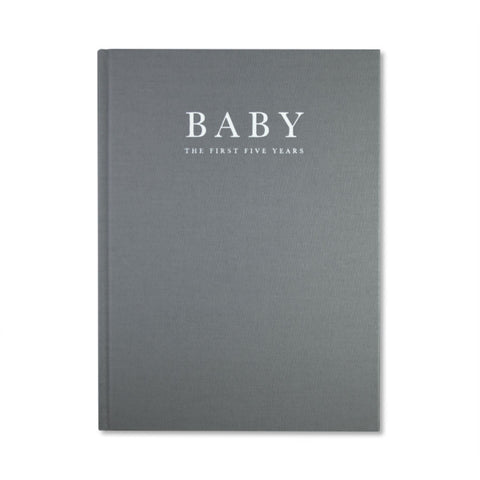 BABY Journal - Birth to Five Years (Grey) - Write to Me