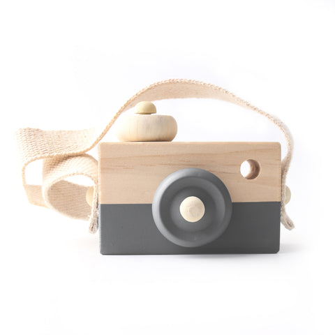 Wooden Camera Toy - Multiple colour options