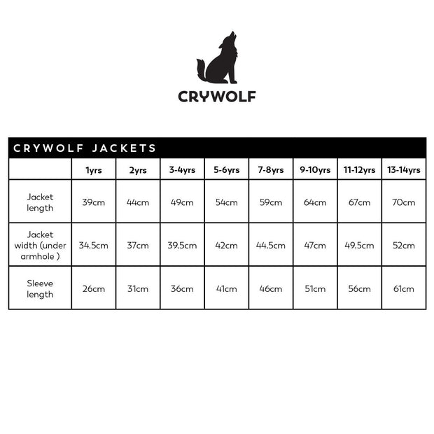 Crywolf Play Jacket Sunshine