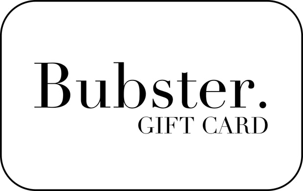 Bubster Gift Card