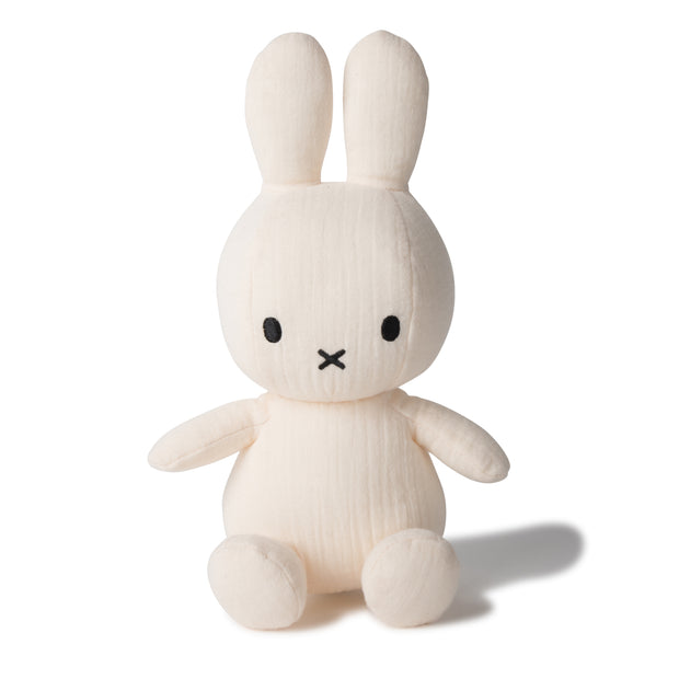 Miffy Plush - Miffy Sitting Muslin Cream (23cm)