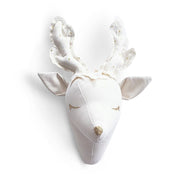 Dear Deer – Plush animal head wall mount