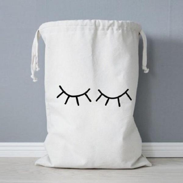 Sleepy Eyes Storage Bag