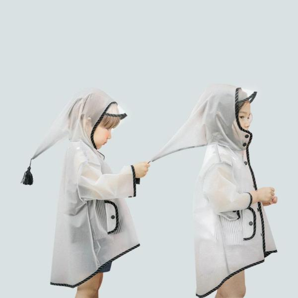 Clear Raincoat - Kids/Adult