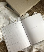 BABY - First Year of You Journal (Boxed) - Write to Me