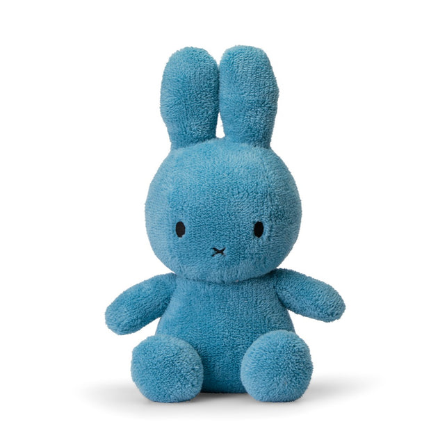 Miffy Plush - Miffy Sitting Terry Ocean Blue (33cm)