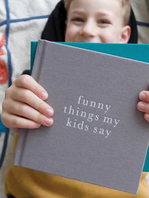 Funny Things My Kids Say (Grey) - Write To Me