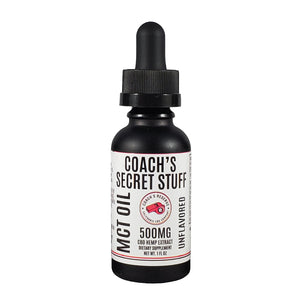 Coach's Secret Stuff - CBD Enriched MCT Oil