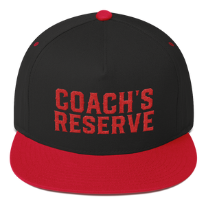 Coach's Flat Bill Cap