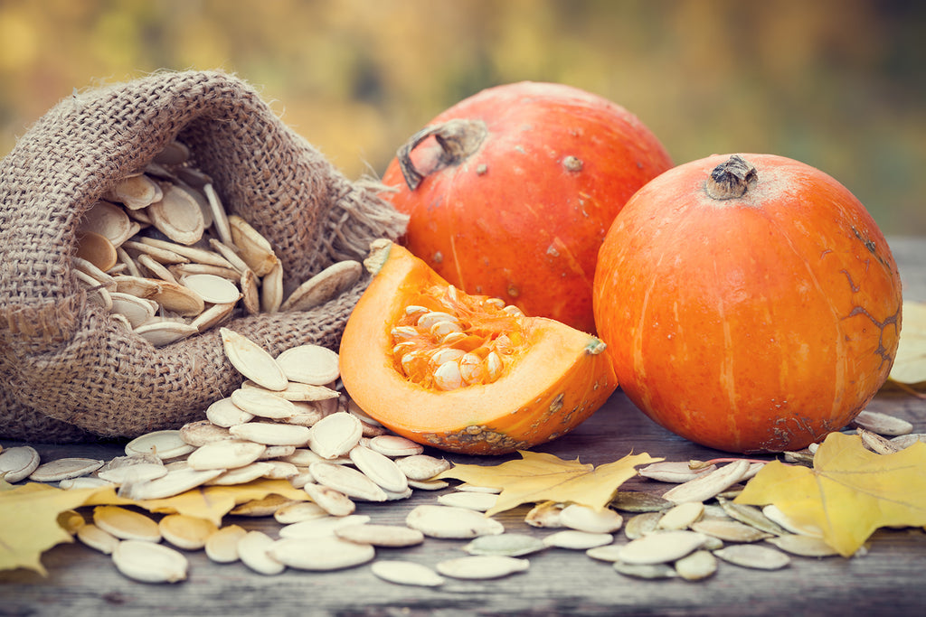 Fresh pumpkin for your skin to help fight the signs of aging