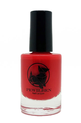 Animal Lover Red Polish