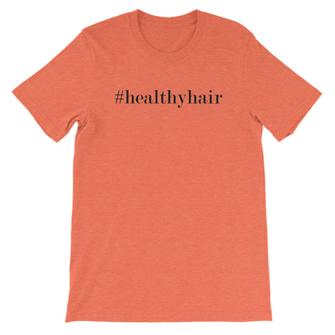 Hashtag healthy hair short sleeve ladies t-shirt NF