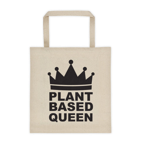 Plant based queen tote bag