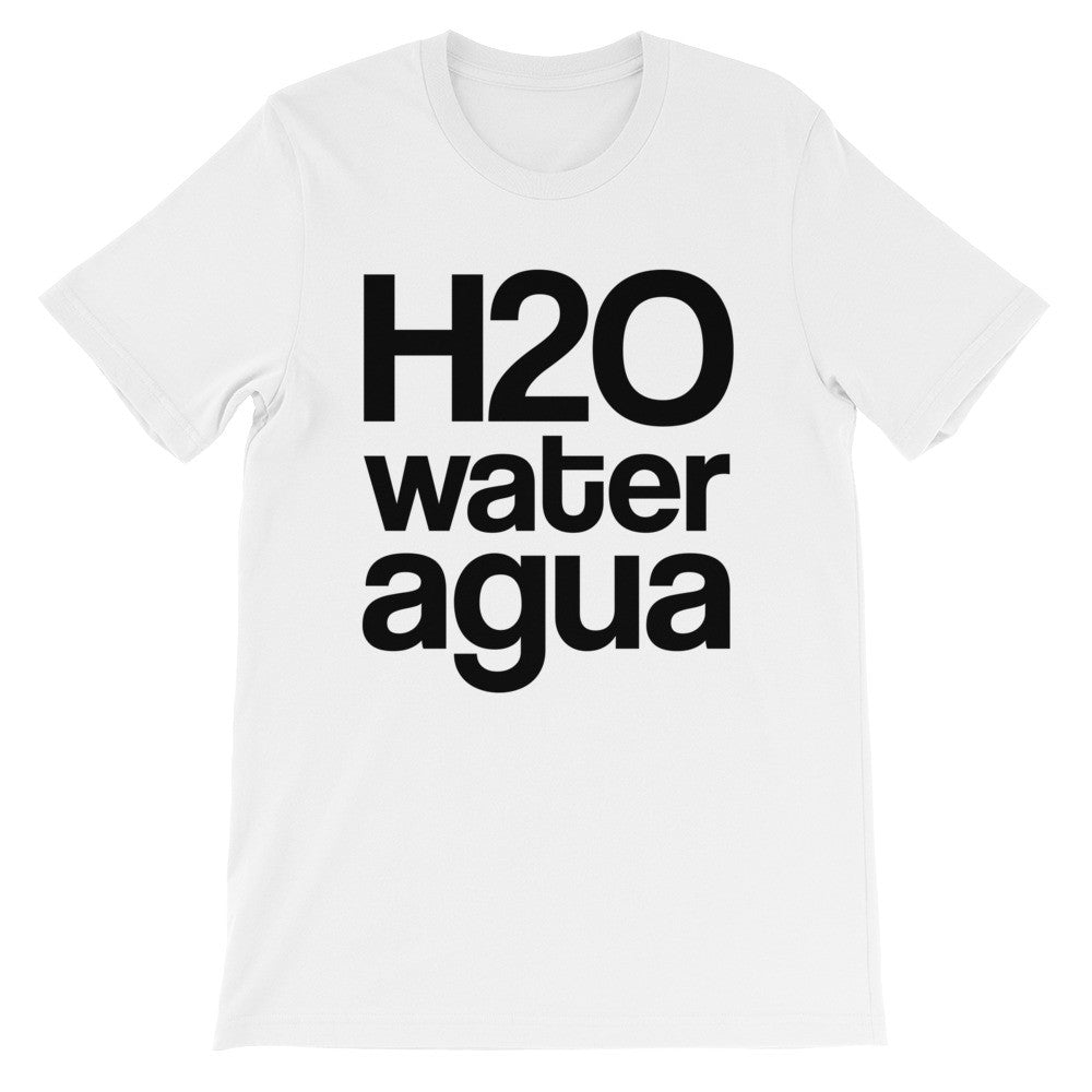 H2O water agua short sleeve t-shirt VU