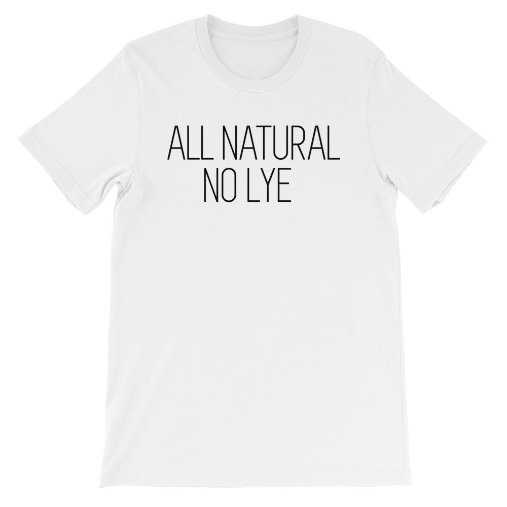 All natural no lye short sleeve ladies t-shirt NF