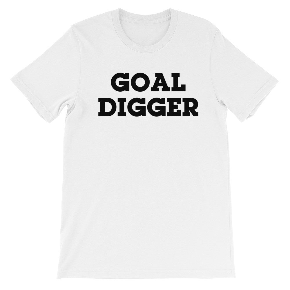 Goal digger short sleeve t-shirt EU