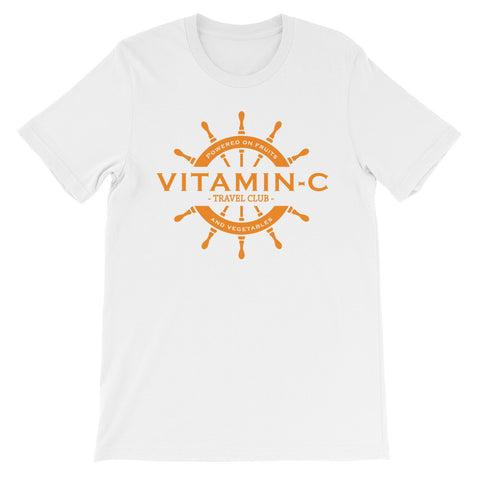 Vitamin C travel club short sleeve male t-shirt VM