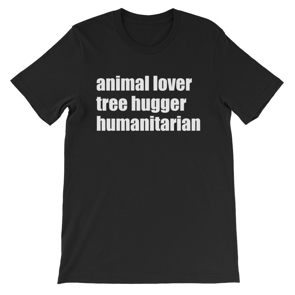 Tree hugger short sleeve unisex t-shirt AU