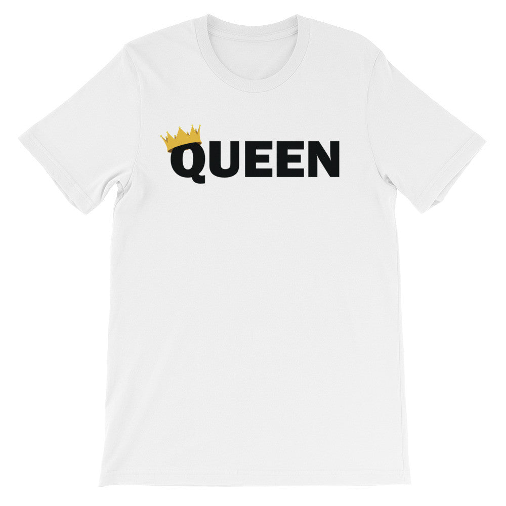 Queen crown short sleeve ladies t-shirt EF