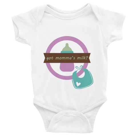 Got Momma's milk infant bodysuit