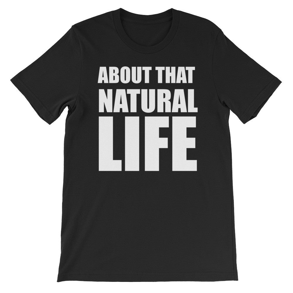 Natural life short sleeve unisex t-shirt NF