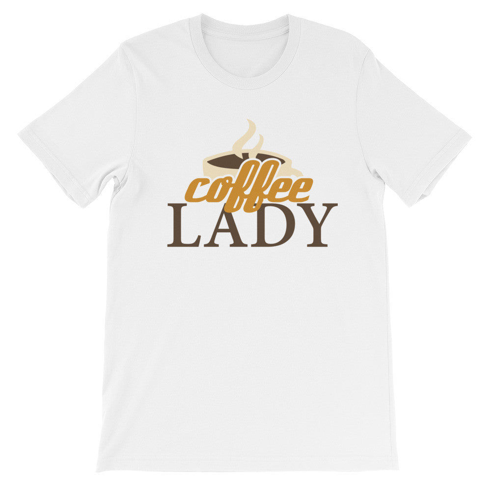 Coffee lady short sleeve ladies t-shirt VF